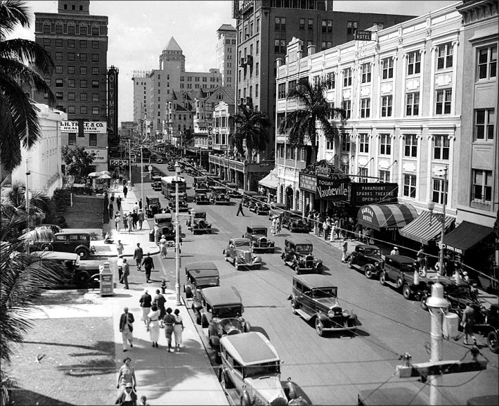 Miami Downtown in 1934