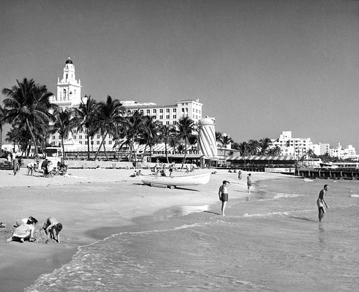South Beach in 1950