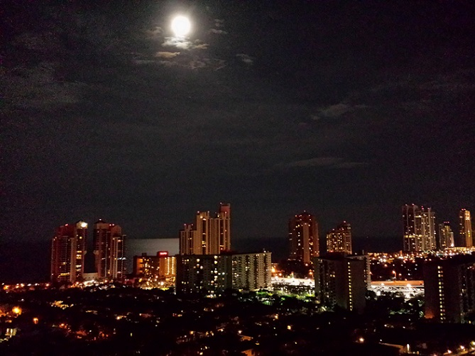 Sunny Isles Beach at Night